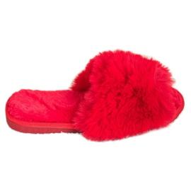 Bona Modne crvene papuče crvena