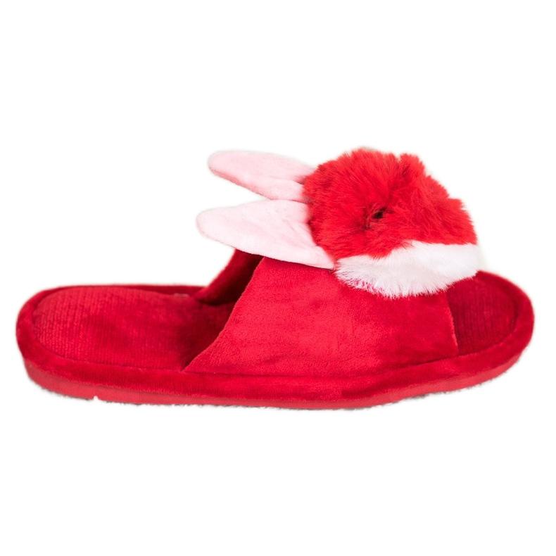 Bona Papuče zeka crvena