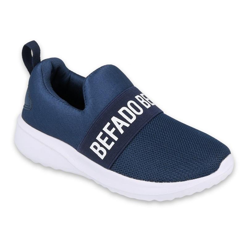 Befado dječje cipele 516Y082 bijela mornarsko plava