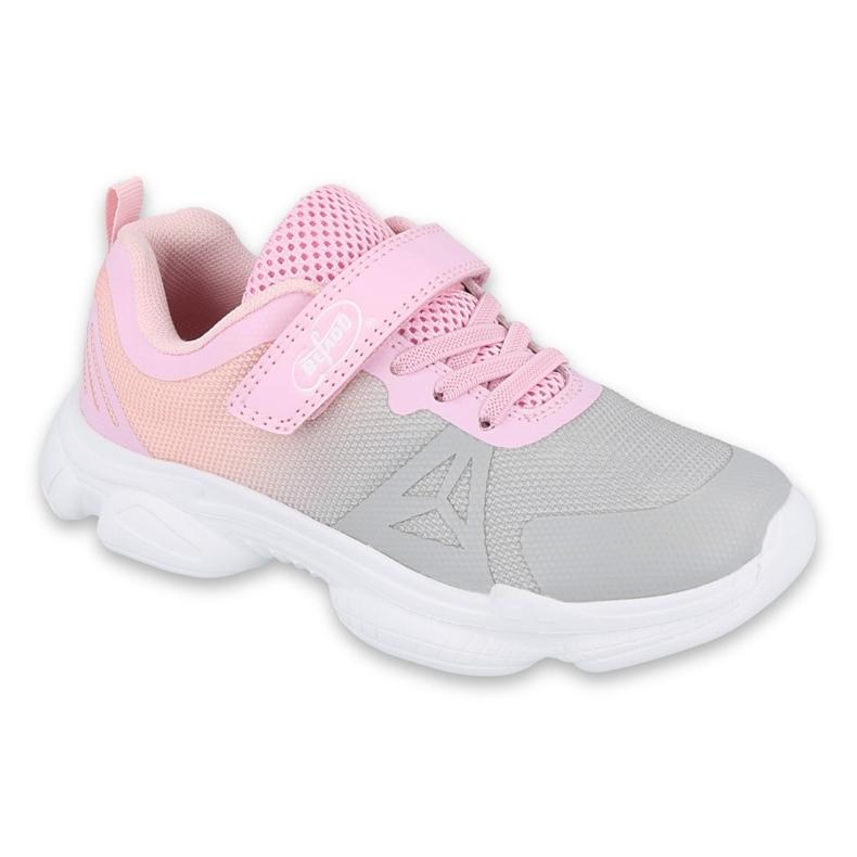 Befado omladinske cipele 516Q055 ružičasta siva