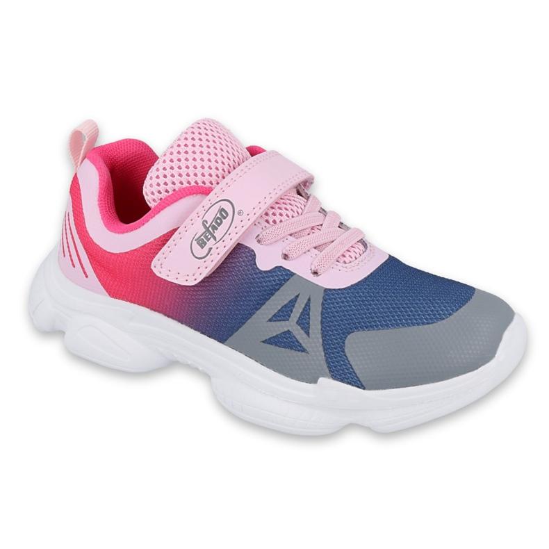 Befado dječje cipele 516X054 mornarsko plava ružičasta siva raznobojna