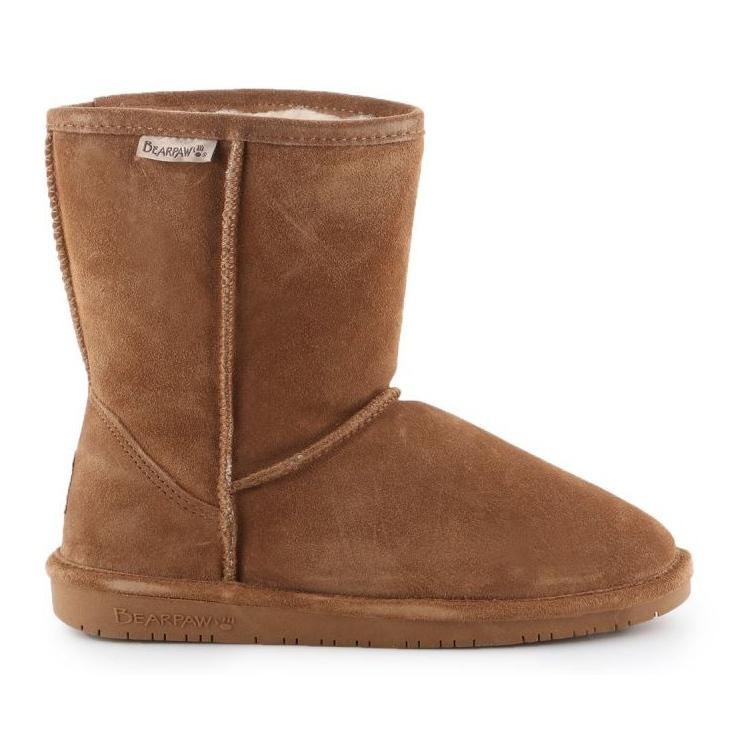 BearPaw Emma Youth 608Y-920 W Hickory Neverwet cipele smeđa crno