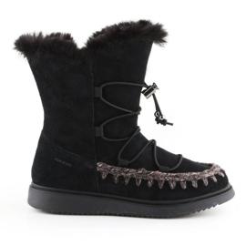 Zimske cipele Geox J Thymar GB Jr J944FB-00022-C9999 smeđa plava