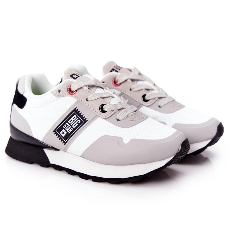 Dječje sportske cipele Memorijska pjena Big Star HH374168 Bijela