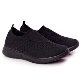 EVE Dječje sportske cipele Slip-On Black School Trip crno