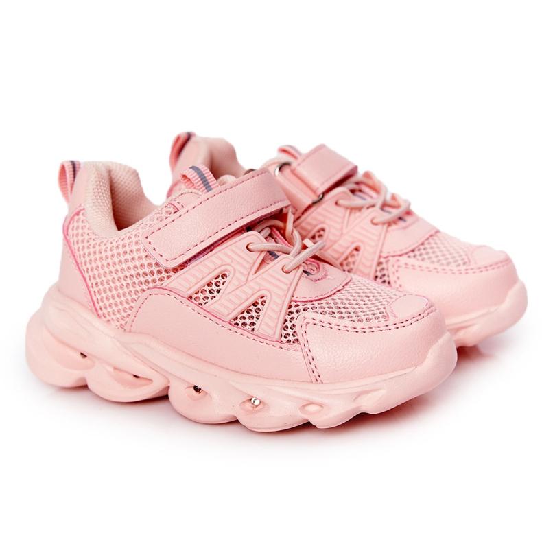 Dječje tenisice s osvijetljenim potplatom i ružičastom bojom Tako cool! ružičasta