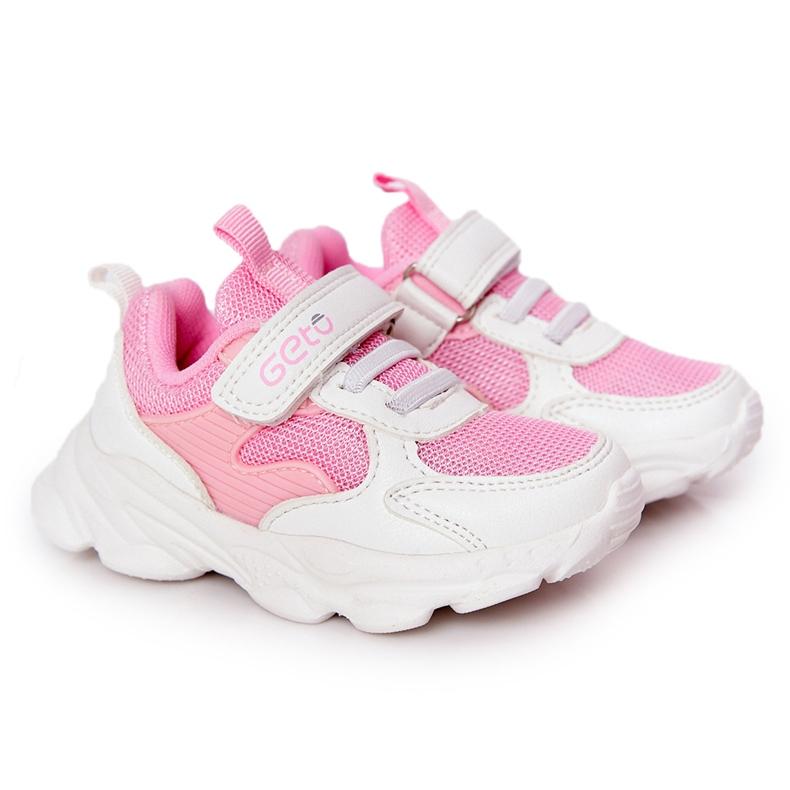 Dječje sportske cipele Tenisice bijeli i ružičasti šećer bijela ružičasta