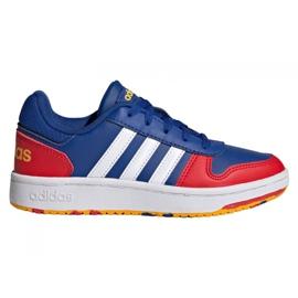 Adidas Hoops 2.0 Jr FY7016 cipele mornarsko plava plava