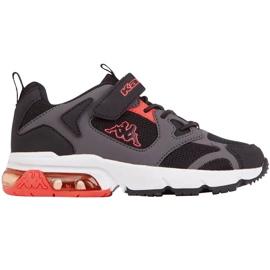 Kappa Yero dječje cipele crno-sivo-koraljni 260891K 1129 crvena siva