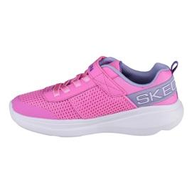 Skechers Go Run Fast-Viva Valor Jr 85401L-PKLV plava ružičasta