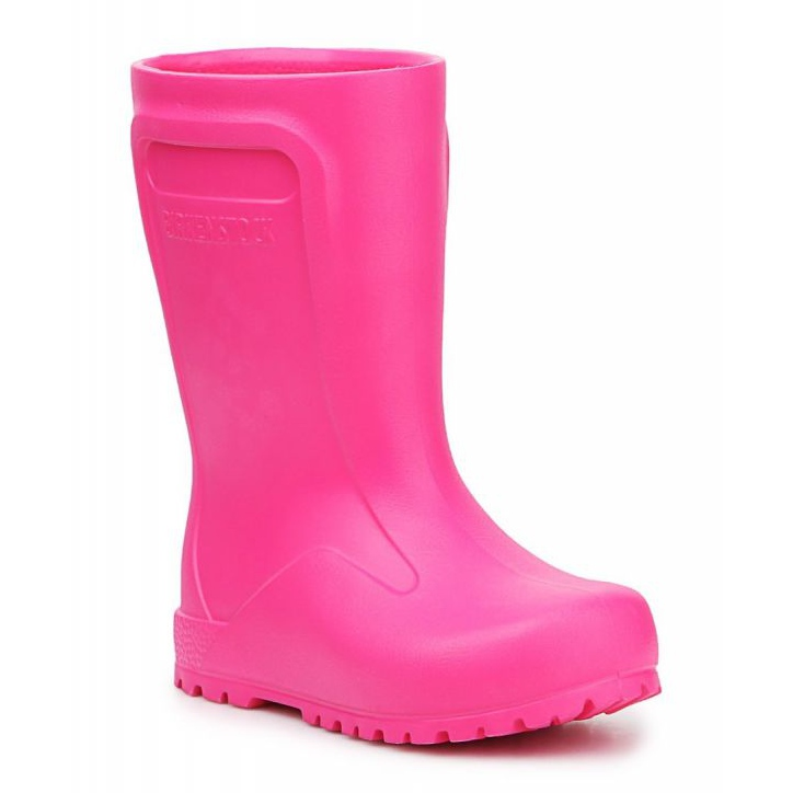 Wellingtons Birkenstock Derry Neon Pink Jr 1006288 crno ružičasta