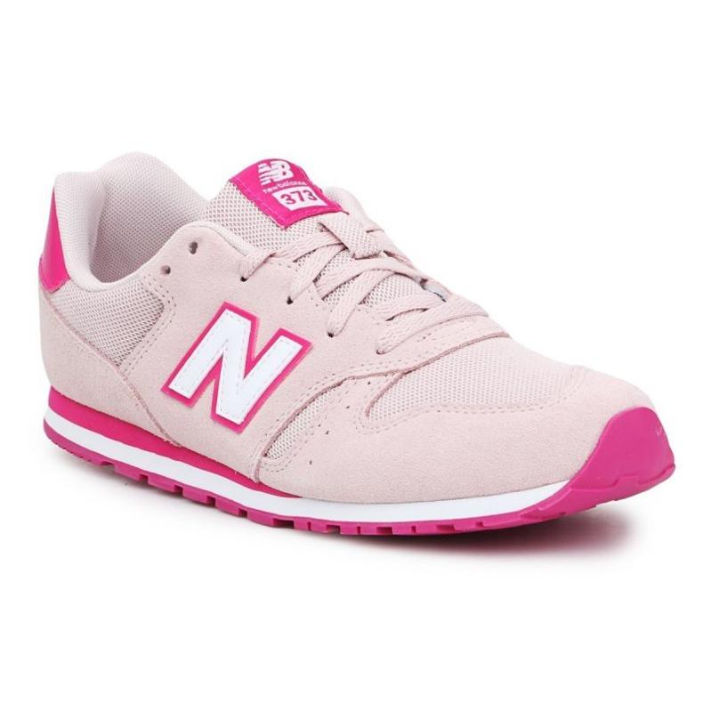 New Balance Nove cipele Balance Jr YC373SPW naranča ružičasta