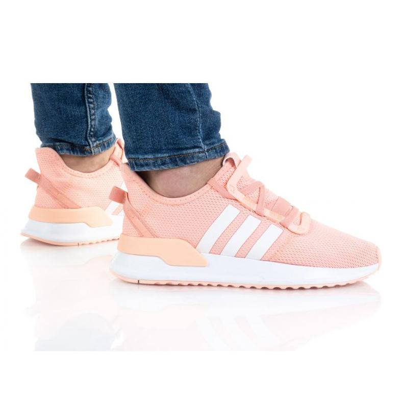 Adidas U_Path Run Jr FX5068 cipele naranča ružičasta