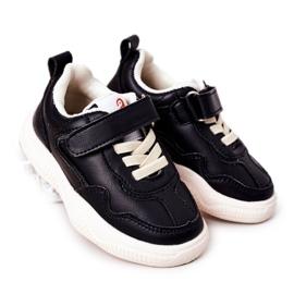 Apawwa Dječje sportske cipele Tenisice Black Runner crno