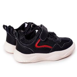 Apawwa Dječje sportske cipele Tenisice Black Fun crno