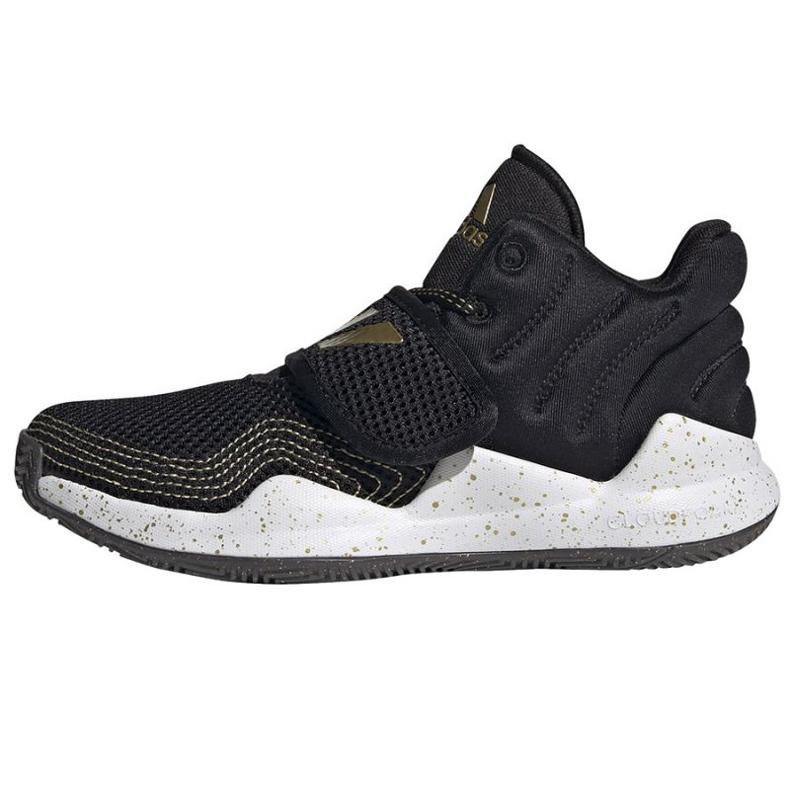 Cipele adidas Deep Threat Primeblue C Jr GZ0111 bijela crno