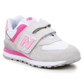 New Balance Jr PV574SA2 ružičasta raznobojna