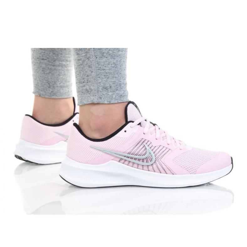 Cipele Nike Downshifter 11 (GS) Jr CZ3949-605 bijela plava