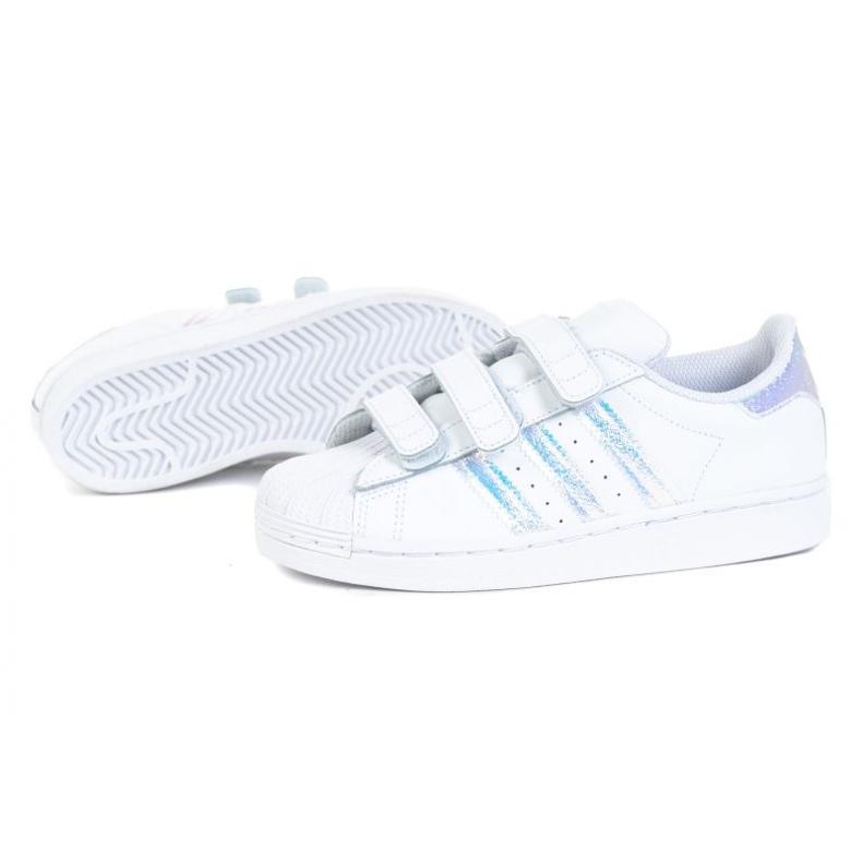 Adidas cipele Superstar Cf C FV3655 bijela crno