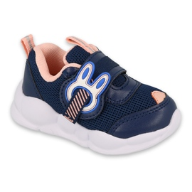 Befado dječje cipele 516P090 mornarsko plava ružičasta