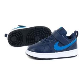 Cipele Nike Court Borough Low 2 (TDV) M BQ5453-403 ljubičasta mornarsko plava