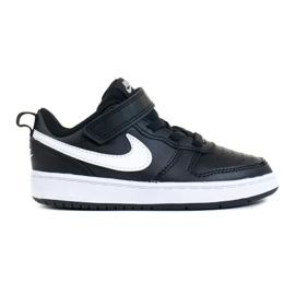 Cipele NIke Court Borough Low 2 (TDV) Jr BQ5453-002 crno