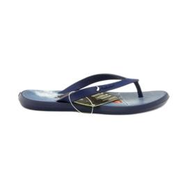 Haditengerészet Navy kék flip flops gyermekcipő flip-flops Rider 1307
