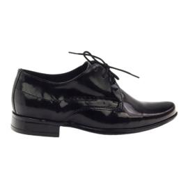 Crna Crno lakirane dječje cipele Gregors 429