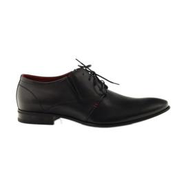 Crna Crne klasične muške cipele Pilpol 1623
