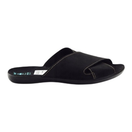 Crna Muške papuče Adanex 20310 crne