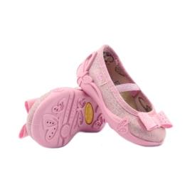 Djevojke papuče Befado 441p006 luk ružičasta