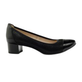 Fekete Női cipő Gamis 1810 black