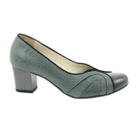 Ženske cipele Espinto 395 tęg G1 / 2 sive