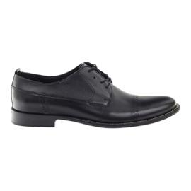 Crna Badura klasične crne cipele za muškarce 7599