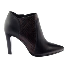 Espinto 107/30 ženske čizme crne