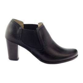 Crna Gregors 553 ženske crne cipele