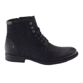 Crna Čizme zimske čizme Pilpol C831 crne