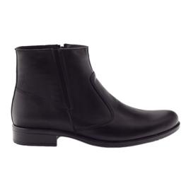 Zimske muške čizme Tur 268 crne crna
