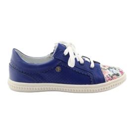Plava Cvijeće za djevojke u niskim cipelama Bartek 15524