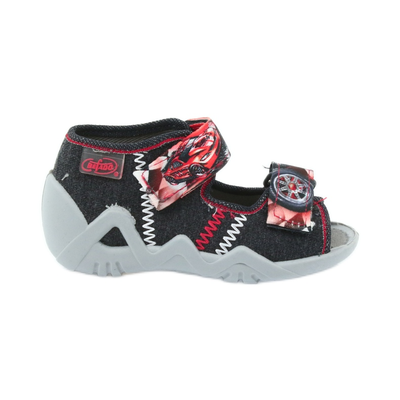 Befado dječje cipele sandale papuče 250p055 crvena siva
