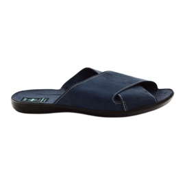 Muške papuče Adanex 20308 mornarsko plava mornarica