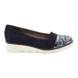 Edeo Cipele LORDSY udobne mornarsko plave boje