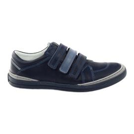 Dječačke cipele, čičak Bartuś, mornarsko plava