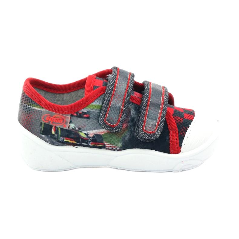Befado dječje cipele, tenisice, papuče 907p093 crvena siva