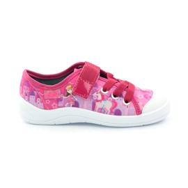 Papuče tenisice princeza Befado 251x069 ružičasta bijela
