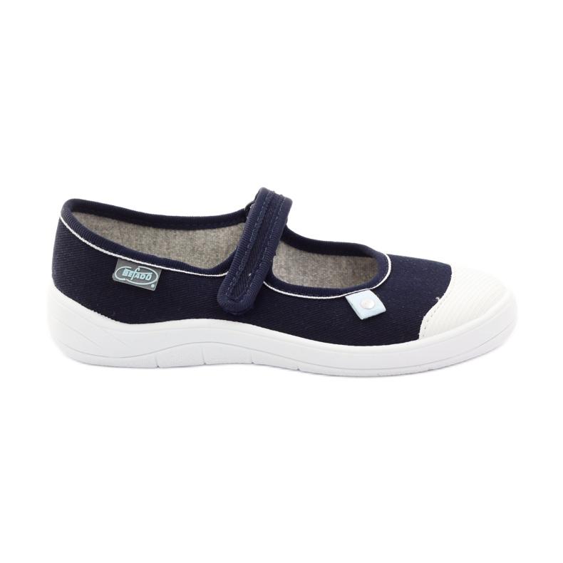 Papuče za balerinke Velcro Befado 208y042 raznobojna