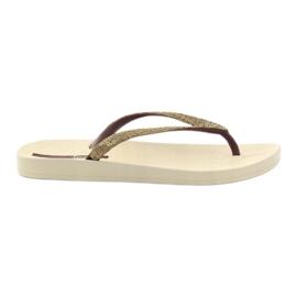 Flip flops Ipanema 81927 gold