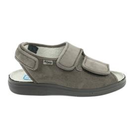 Sandale za dijabetičare Befado 676d006 siva