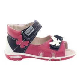 Lányok szandálai - pillangó Bartuś rózsaszín