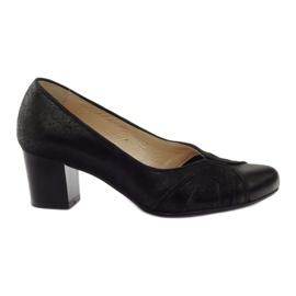 Crna Ženske cipele Espinto tęg G1 / 2 crne